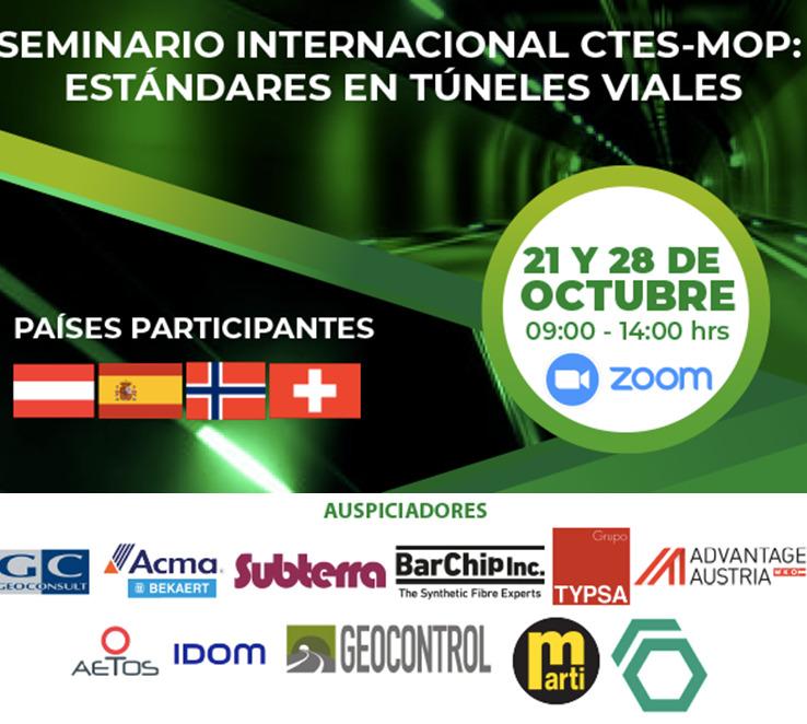 Seminario Internacional CTES-MOP: Estándares en TúnelesViales