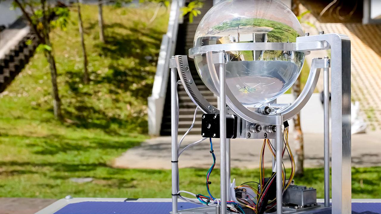 Captar y transportar la luz solar para iluminar espacios subterráneos