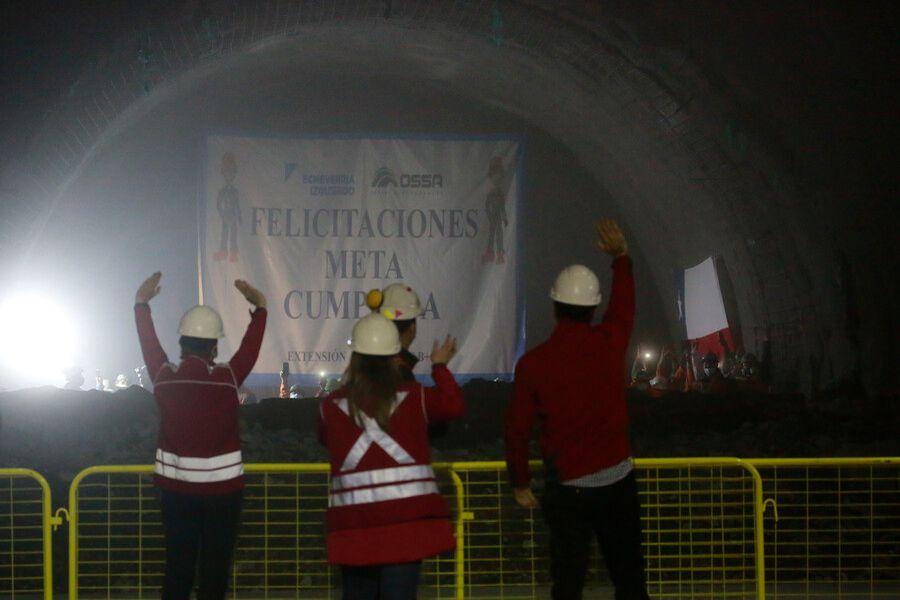 Autoridades encabezan último encuentro de túneles en extensión de Línea 3 del Metro