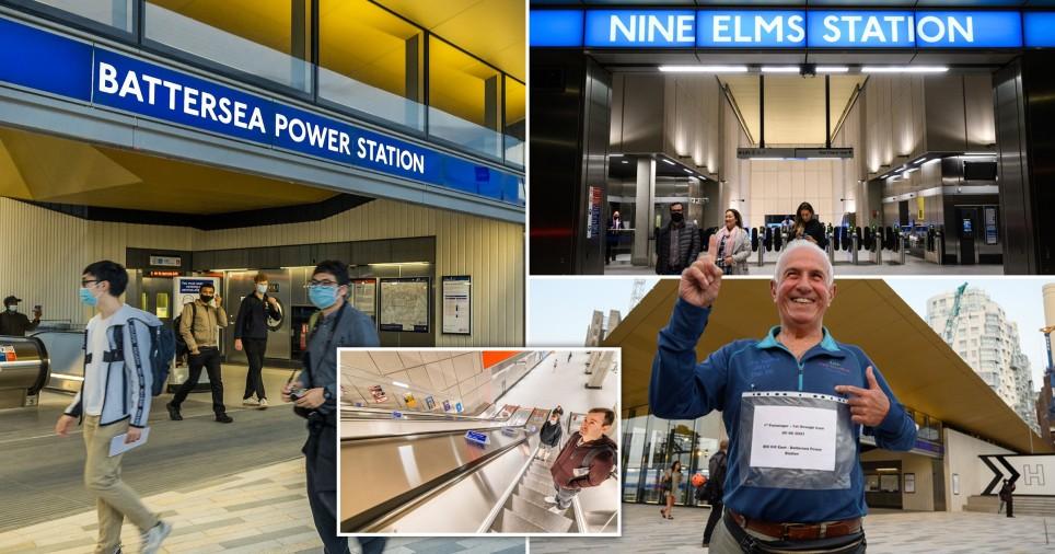 Se abren dos nuevas estaciones de metro que conectan la central eléctrica de Battersea con Northern Line