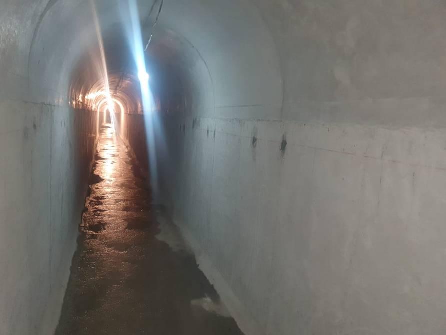 Sistema de túneles subterráneos para el manejo de aguas servidas se construye en Tumbaco y Cumbayá, en el nororiente de Quito